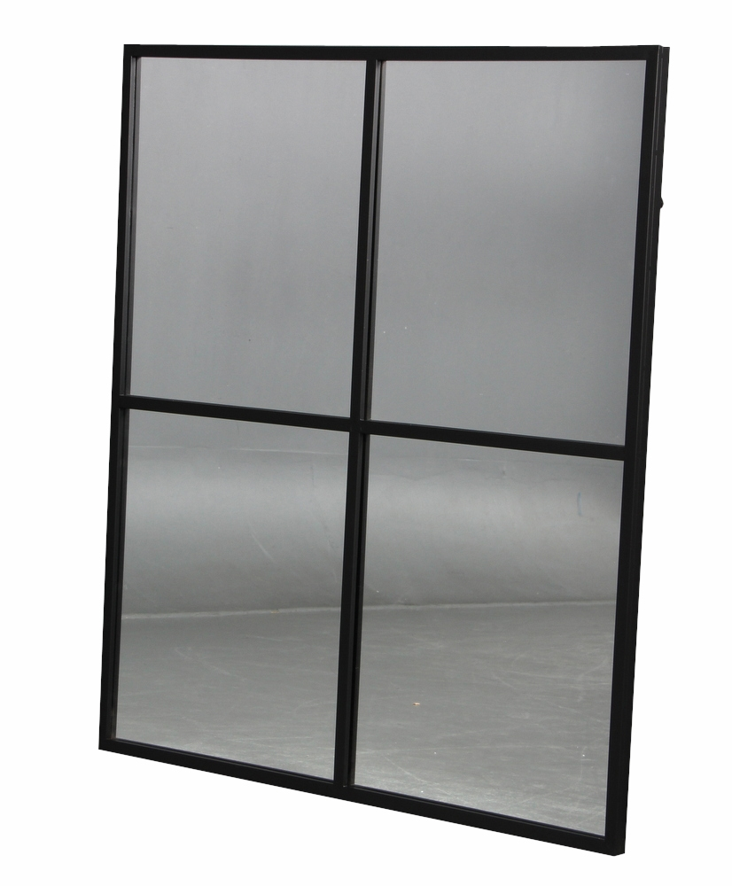 spejl med sort ramme Spejl med sort ramme i jern spejl med sort ramme