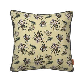 Cozy Living bomulds pude Palm Flower Army 50x50cm