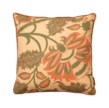 Cozy Living bomulds pude Margrethe Light Coral 50x50cm