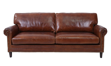 3 pers Læder sofa model Fairfield