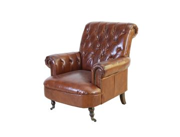 Westport cowhide chair