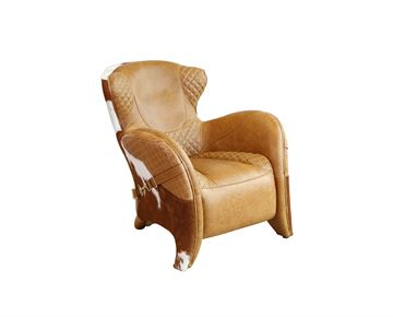English Cowhide Chair
